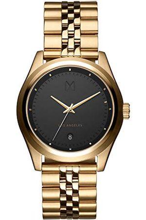 MVMT Man Klockor - Herr analog kvartsklocka med rostfritt stålrem D-TC01-BG