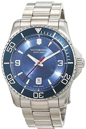 Victorinox Herr analog automatisk klocka med rostfritt stål armband 241706