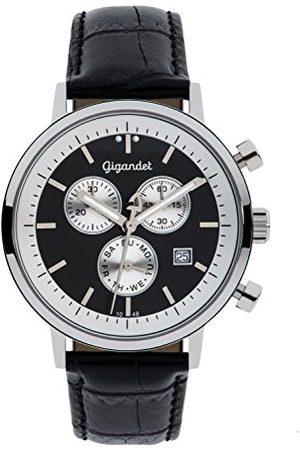 Gigandet G6 – 003 – klocka för män, läderrem
