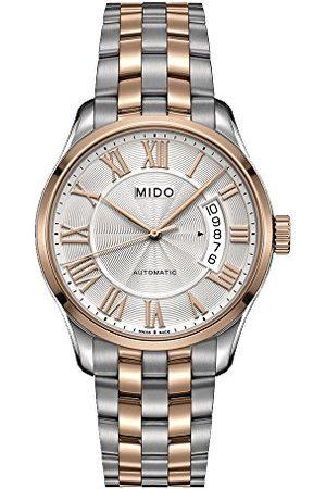 MIDO Herr analog automatisk klocka med rostfritt stål armband M0244072203300