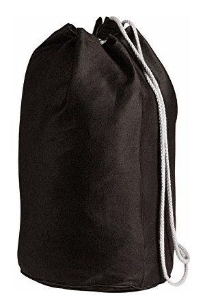 eBuyGB Pojke Väskor - Duffelväska sjömansväska av bomullslinne, med dragsko