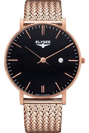 ELYSEE Unisex vuxna analog kvartsur med rostfritt stål armband 98005M
