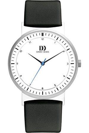 Danish Design Dansk design unisex analog kvartsklocka med rostfritt stålrem IQ12Q1189