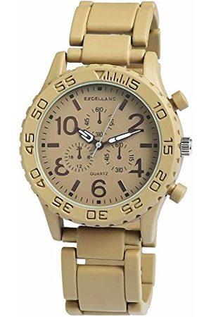Excellanc Unisex-armbandsur analog kvarts olika material 15072750003
