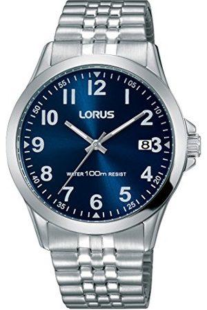 Lorus Herr analog kvartsklocka med rostfritt stålrem RS973CX9