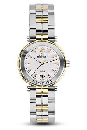 Michel Herbelin Unisex vuxna analog klocka med rostfritt stål armband 14285/BT11