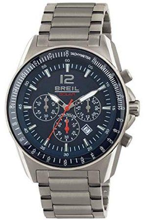Breil Herr kronograf kvarts smart klocka armbandsur med titan armband TW1659