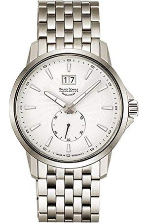 Soehnle Bruno Söhnle herr analog kvarts klocka med rostfritt stål armband 17-13158-242