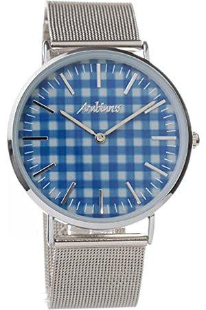 ARABIANS Analoga kvartsklocka för män med rostfritt stålrem HBA2228EA