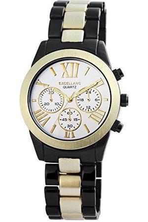 Excellanc Herr analog kvartsklocka med olika material armband 28091250006