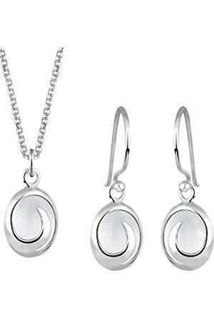 Elli Dam 925 sterling silver xilion slipat smycken set e sterlingsilver, colore: Vitt, cod. 0904212012_45