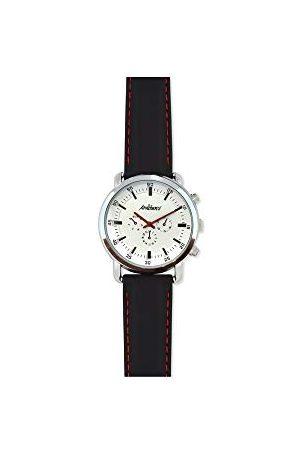 ARABIANS Herr analog kvartsklocka med silikonarmband HBA2258N