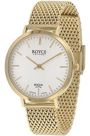 Boccia Man Klockor - Digital kvartsklocka för män med rostfritt stålrem 3590-11