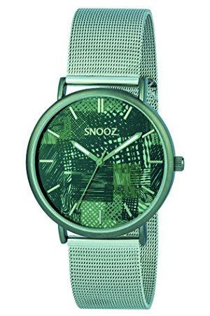 Snooz Herr analog kvartsklocka med rostfritt stålrem Saa1042-77