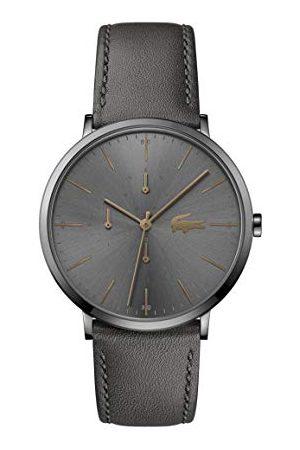 Lacoste Man Armband - Kvartsklocka med läderarmband 2011059