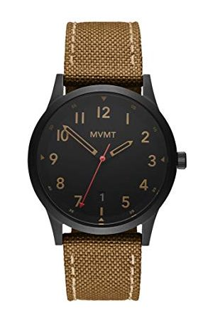 MVMT Man Armband - Herr analog kvartsklocka med segelduk armband 28000017-D