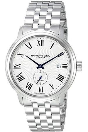 Raymond Weil Herr analog automatisk klocka med rostfritt stålrem 2238-ST-00659