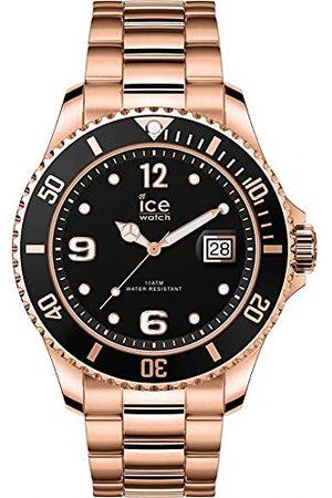 Ice-Watch – ICE stål roseguld – herr (unisex) armbandsur med metallrem – 016763 (medium)