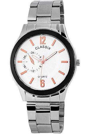 CLASSIX Herr analog kvartsklocka med rostfritt stål armband RP1362210006