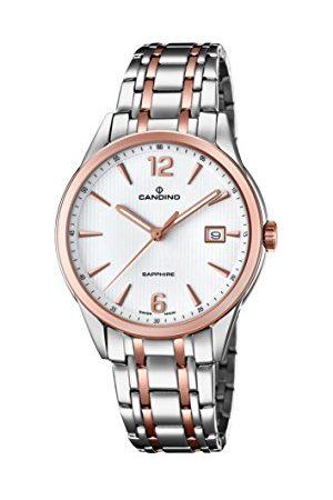 Candino Herr analog klassisk kvartsklocka med rostfritt stålrem C4616/2