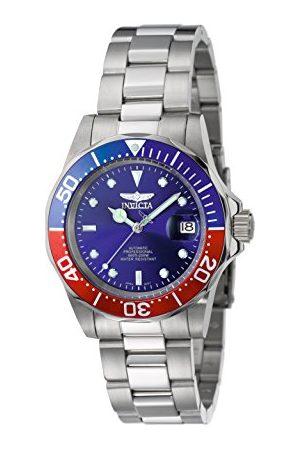Invicta 5053 Pro dykare unisex klocka rostfritt stål automatisk blå urtavla