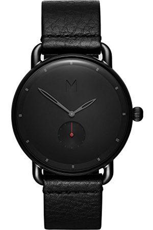 MVMT Herr analog kvartsklocka med läderrem D-MR01-BBL