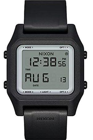 Nixon Digital LCD-modul klocka för män med silikonarmband A1309867-00
