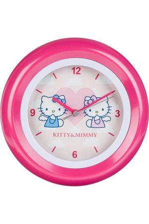 Hello Kitty Barnväggklocka analog HK28-5