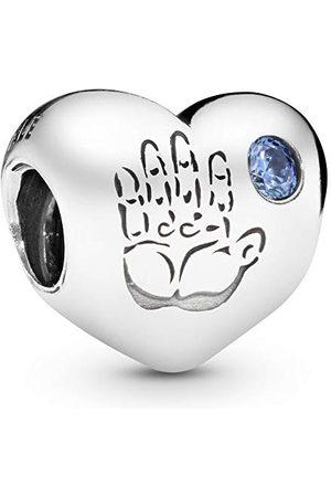 PANDORA Moments handtryck baby pojke berlock sterling silver 791281CZB