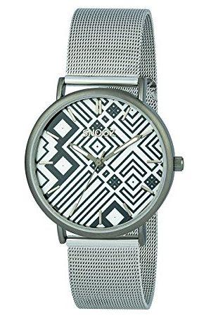 Snooz Herr analog kvartsklocka med rostfritt stålrem Saa1042-76