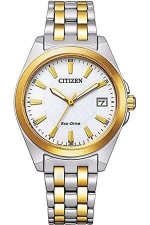 Citizen Analog Eco-Drive armbandsur för kvinnor med armband i rostfritt stål armband
