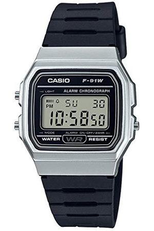 Casio Unisex klocka i harts/akrylglas med datumvisning och LED-ljus - vattentåligt och larm rem