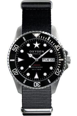 Oxygen Unisex-armbandsur Moby Dick 44 analog kvarts nylon EX-D-MOB-44-NN-BL