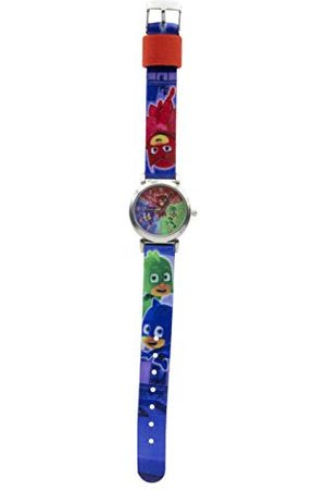 PJ Masks PJ masker unisex – barn analog kvartsklocka med tyg armband 17027