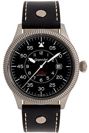 Gigandet G8-006 – Klocka för män, läderrem