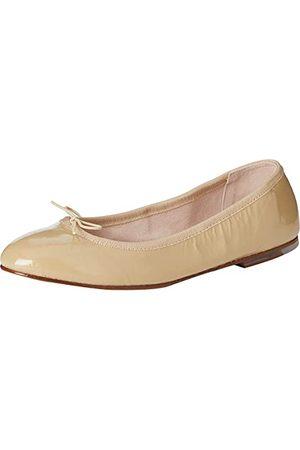 Bloch Patent Ballerina balett för kvinnor platt, Cappuccino - 37 EU