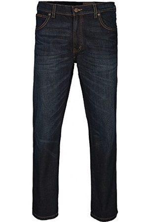 Wrangler Herr-Texas stretch använda rak jeans