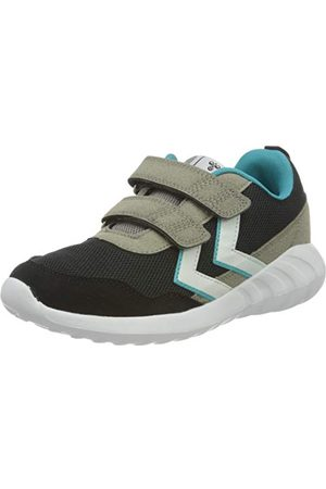 Hummel Unisex barn moln Jr Sneaker, Svart4 UK