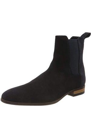 HUGO BOSS Herr Cult_cheb_sd1 Chelsea Boots, Dark Blue 401-41 EU