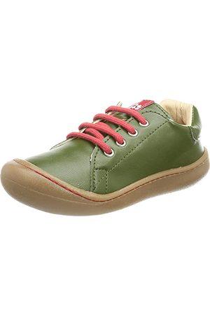 POLOLO Unisex barn mini veganska gröna sneakers, - 27 EU