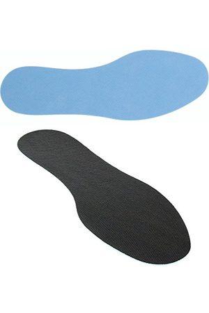 Bama Fresh Friska sulor, herr sko-innersula, 6 par, ultratunna för färska fötter, /blå,svart44/45 EU