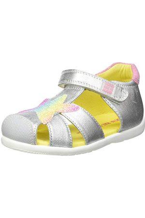Agatha Ruiz de la Prada Babyflicka 212902-b sandal, Plata Soleil - 18 EU