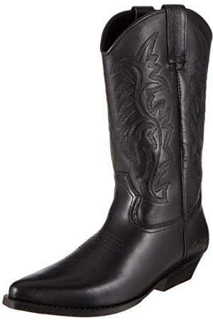 Dockers Kvinna Cowboy - Män 43bl001 cowboystövlar, - Schwarz 100-45 EU