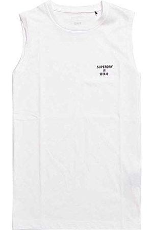 Superdry Herrträning Kärna Sport Tank T-Shirt