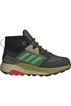 adidas Unisex barn Terrex Trailmaker Mid R.rdy K trekking- & vandringskängor, flerfärgad - Pinsil Verint Rojint - 29 EU
