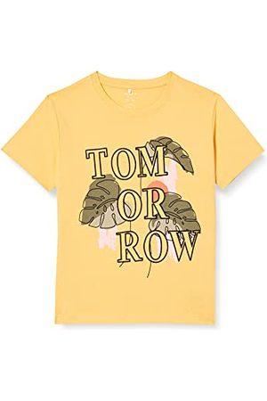 NAME IT Nkfdamaya Boxy Ss topp t-shirt för flickor