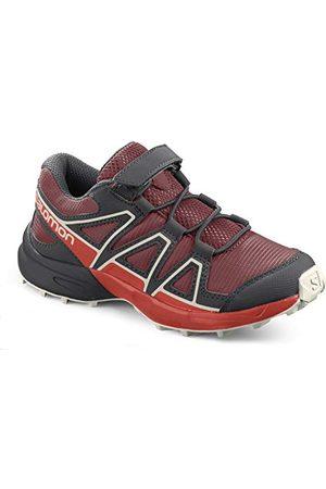Salomon Barn Speedcross bungee, skor för trailllöpning och utomhusaktiviteter, dahlia körsbärstomat vanilj is - 26 EU