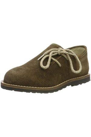 Stockerpoint Pojkar sko 3399 Brogues, Brunt havanna sparkat28 EU