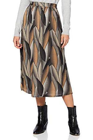 Mexx Dam lång löv tryckt kjol