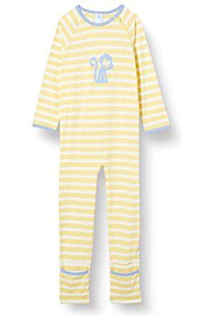 Sanetta Baby-pojkar overall gul spädbarn sovplagg